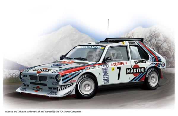 1/24 レーシングシリーズ ランチア デルタ S4 '86 モンテカルロラリー プラモデル[プラッツ/nunu]《07月予約》