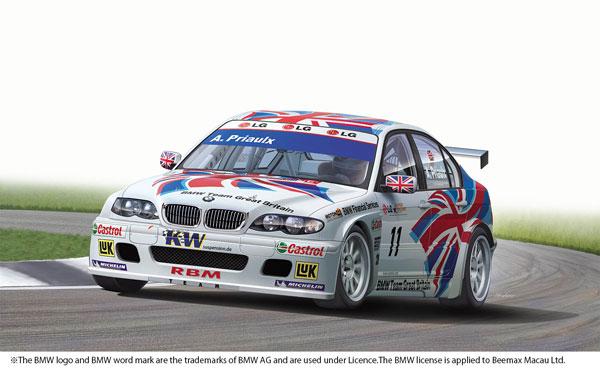1/24 レーシングシリーズ BMW 320i E46 2004 ETCC ドニントン ウィナー プラモデル[プラッツ/nunu]《08月予約》
