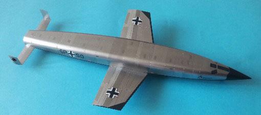 1/72 ゼンガー・ジルバーフォーゲル 対蹠地爆撃機 プラモデル[MikroMir]《06月予約》