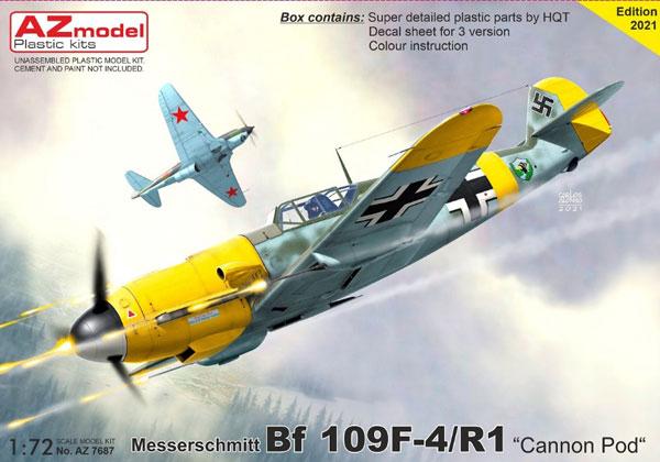 1/72 Bf109F-4/R1 「カノンゴンドラ」 プラモデル[AZ Model]《06月予約》