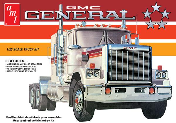 1/25 1976 GMC ジェネラル セミトラクター プラモデル[AMT]《06月予約》