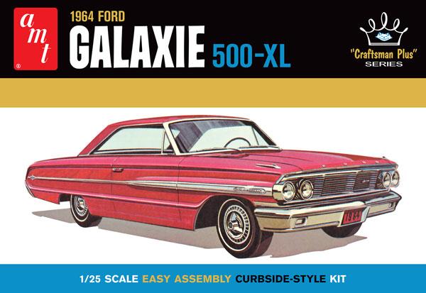 1/25 1964 フォード ギャラクシー 500-XL プラモデル[AMT]《06月予約》