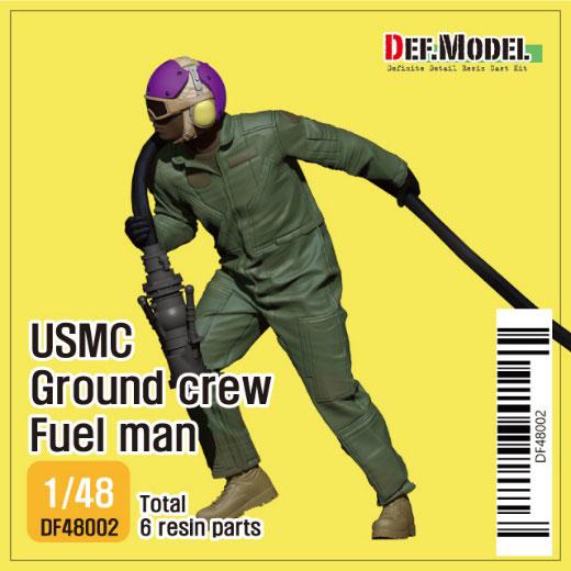 1/48 現用 アメリカ海兵隊地上要員 フュールメン(3Dプリンター製給油ノズル付)[DEF. Model]《06月予約》