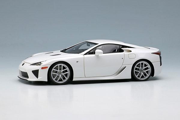 1/43 レクサス LFA 2010 ホワイト[メイクアップ]【送料無料】《07月予約》