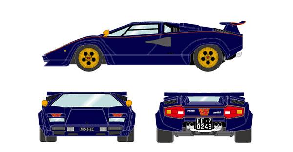 """1/18 ランボルギーニ カウンタック LP400S プロトタイプ """"ウォルターウルフ3号車"""" 1980[メイクアップ]【送料無料】《09月予約》"""