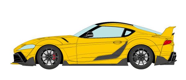 1/18 トヨタ GRスープラ TRD 3000GT コンセプト 2019 ライトニングイエロー[メイクアップ]【送料無料】《10月予約》