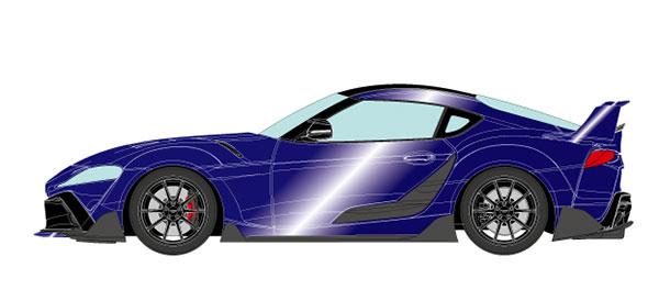 1/18 トヨタ GRスープラ TRD 3000GT コンセプト 2019 ディープブルーメタリック[メイクアップ]【送料無料】《10月予約》