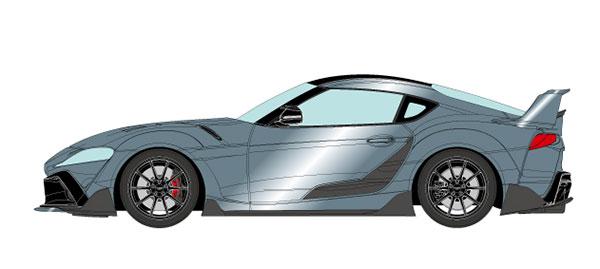 1/18 トヨタ GRスープラ TRD 3000GT コンセプト 2019 アイスグレーメタリック[メイクアップ]【送料無料】《10月予約》