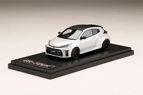 "1/43 Toyota GR YARIS RZ""High-performance プラチナホワイトパールマイカ[MARK43]《05月予約》"