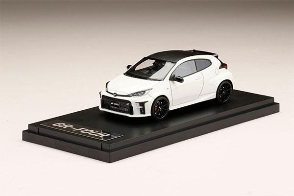 "1/43 Toyota GR YARIS RZ""High-performance スーパーホワイトII[MARK43]《05月予約》"