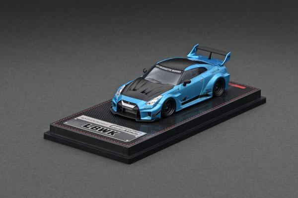 1/64 LB-Silhouette WORKS GT Nissan 35GT-RR Light Blue Metallic[イグニッションモデル]《08月予約》