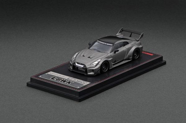 1/64 LB-Silhouette WORKS GT Nissan 35GT-RR Titanium Gray[イグニッションモデル]《08月予約》