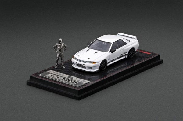 1/64 TOP SECRET GT-R (VR32) White With Mr.Nagata ※メタルフィギュア付[イグニッションモデル]《09月予約》