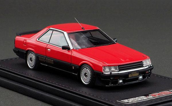 1/43 Nissan Skyline 2000 RS-Turbo (R30) Red/Black[イグニッションモデル]《09月予約》