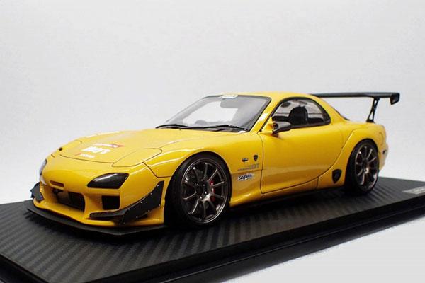 1/18 FEED RX-7 (FD3S) Yellow[イグニッションモデル]【送料無料】《09月予約》