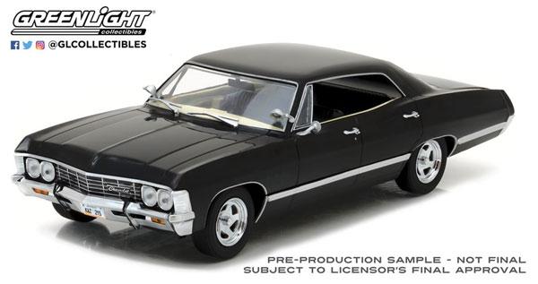 1/24 1967 Chevrolet Impala Sport Sedan - Tuxedo Black[グリーンライト]《10月仮予約》