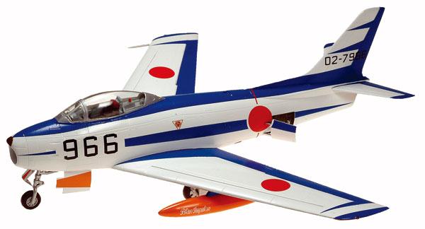 "1/72 F-86F セイバー "" ブルーインパルス "" プラモデル(再販)[童友社]《06月予約》"