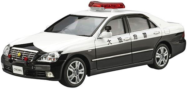ザ・パトロールカー No.3 1/24 トヨタ GRS182 クラウンパトロールカー 交通取締用 '05 プラモデル[アオシマ]《08月予約》