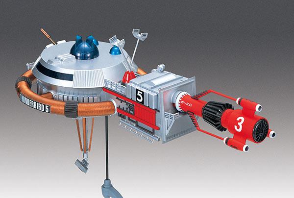 サンダーバード No.5 サンダーバード5 号&3号 電動モデル プラモデル[アオシマ]《08月予約》