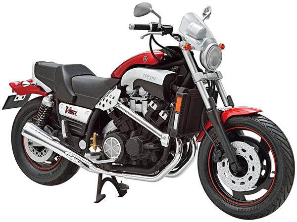 ザ・バイク No.50 1/12 ヤマハ 5GK Vmax '04 カスタムパーツ付き プラモデル[アオシマ]《08月予約》