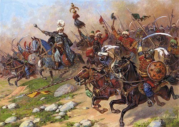 1/72 トルコ騎兵セット(16-17世紀) プラモデル(再販)[ズベズダ]《08月予約》