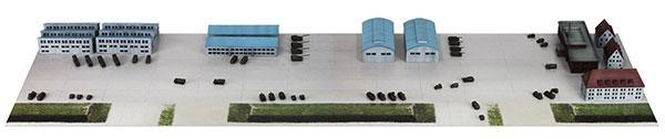 1/700 SPSシリーズ 陸上自衛隊基地 1 プラモデル[ピットロード]《在庫切れ》