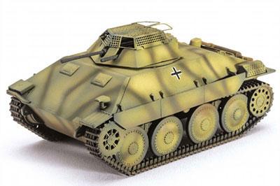 1/72 独・ベルゲヘッツァーシャーシ偵察戦車 プラモデル[ユニモデル]《07月予約》