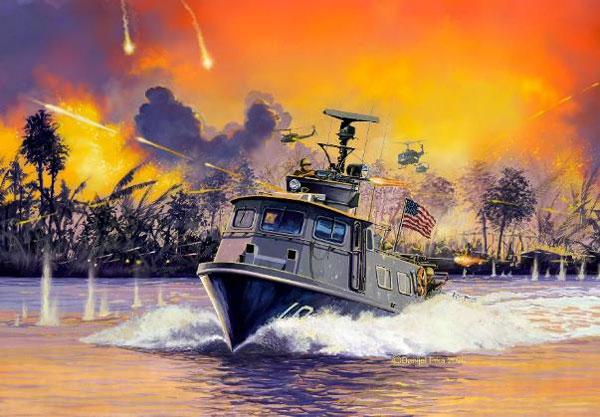 1/72 アメリカ海軍 スウィフトボート Mk.I プラモデル[ドイツレベル]《09月仮予約》