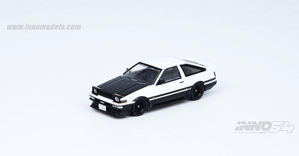 1/64 スプリンター トレノ AE86 ホワイト/ブラック[INNO Models]《08月予約》
