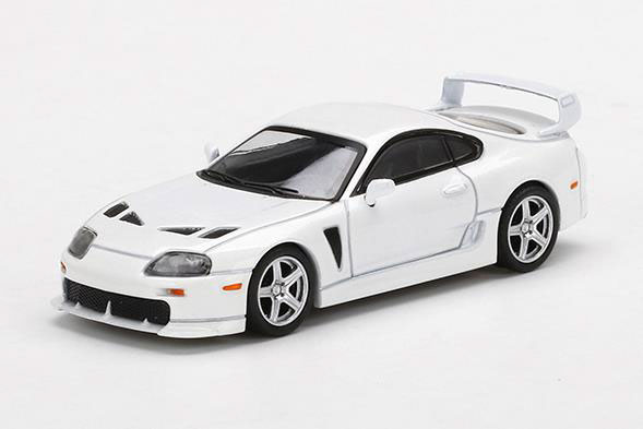 1/64 Toyota TRD 3000GT スーパーホワイト(右ハンドル)[MINI GT]《10月予約》