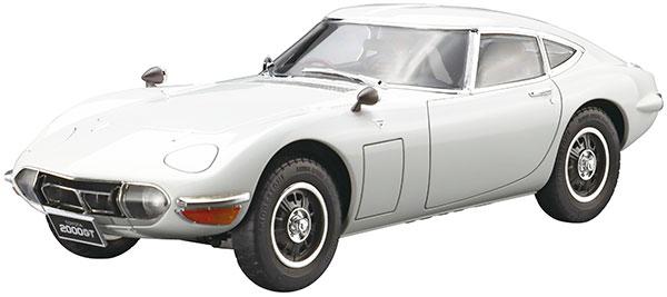 ザ・モデルカー No.1 1/24 トヨタ MF10 2000GT '69 プラモデル[アオシマ]《09月予約》
