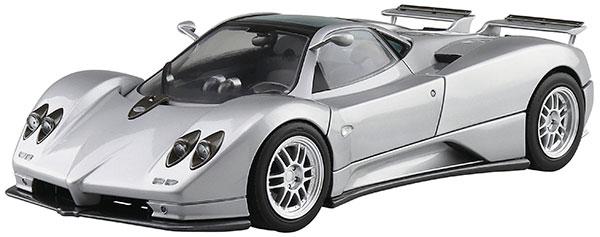ザ・スーパーカー No.7 1/24 '00 パガーニ ゾンダ C12S プラモデル[アオシマ]《09月予約》