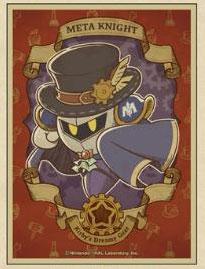 カービィと夢幻の歯車 キャラクタースリーブ メタナイト(EN-1039) パック[エンスカイ]《11月予約》