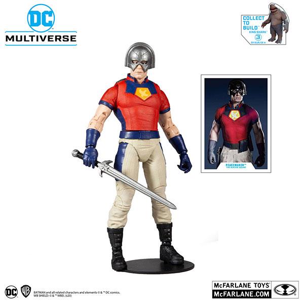 『DCコミックス』DCマルチバース 7インチ・アクションフィギュア #080 ピースメイカー[マクファーレントイズ]《在庫切れ》