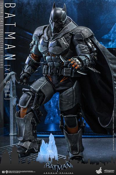 ビデオゲームマスターピース アーカム・ビギンズ 1/6 バットマン(XEスーツ)延期前倒可能性大[ホットトイズ]【同梱不可】【送料無料】《12月仮予約》
