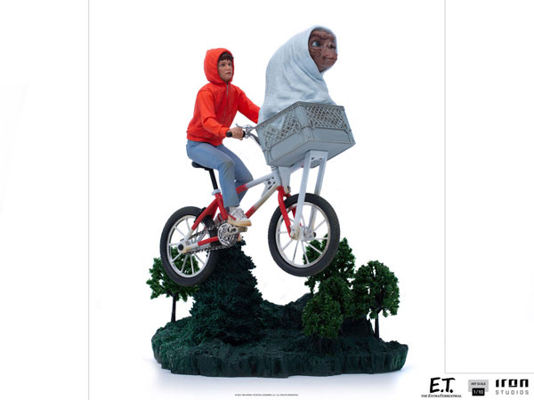 『E.T.』 アイアン・スタジオ スタチュー 「アートスケール」1/10スケール E.T.&エリオット[アイアン・スタジオ]【同梱不可】【送料無料】《09月仮予約》