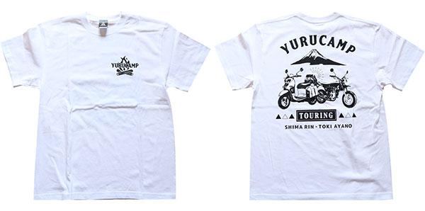 ゆるキャン△ TOURING Tシャツ ホワイト XL[soup]《09月予約》
