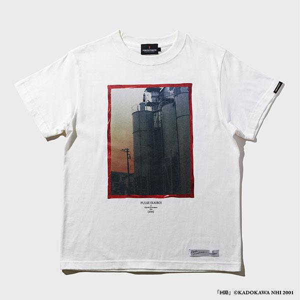 TORCH TORCH/ 黒沢清 アパレルコレクション 回路: 赤いスカートの女 T-Shirt ホワイト XLサイズ[TORCH TORCH]《在庫切れ》