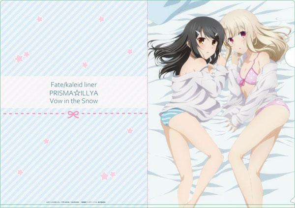 劇場版『Fate/kaleid liner プリズマ☆イリヤ 雪下の誓い』 クリアファイル[シーズナルプランツ]《10月予約》