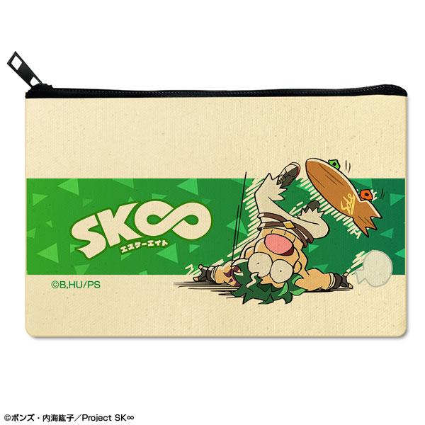 SK∞ エスケーエイト フラットポーチ デザイン06(ジョー)[ライセンスエージェント]《11月予約》
