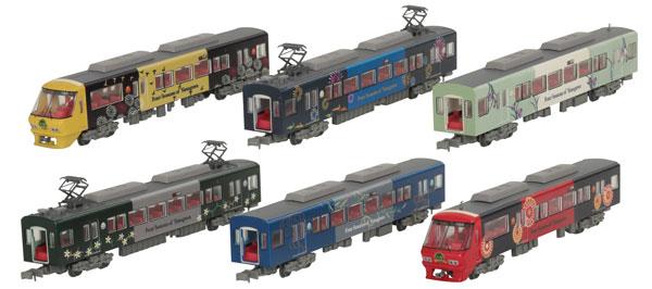 鉄道コレクション 西日本鉄道8000形 柳川観光列車「水都」 6両編成セット[トミーテック]《11月予約》