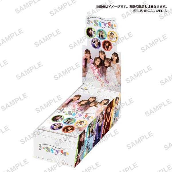 【特典】Voice Actor Card Collection EX VOL.02 i☆Ris「i☆Style」 20BOX入りカートン[ブシロードメディア]【同梱不可】【送料無料】《11月予約》