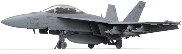 1/48 ボーイング F/A-18F スーパーホーネット戦闘機 (複座型) プラモデル[MENG Model]《発売済・在庫品》