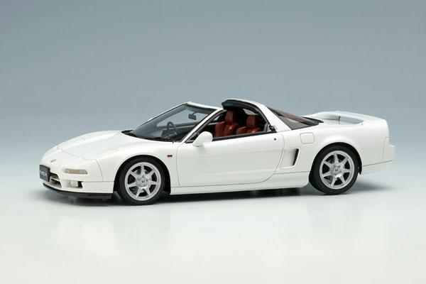 1/43 ホンダ NSX タイプT (NA1) 1997 グランプリホワイト[メイクアップ]【送料無料】《12月予約》