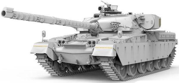 1/35 イギリス主力戦車 チーフテン Mk.10 プラモデル[MENG Model]《11月予約》