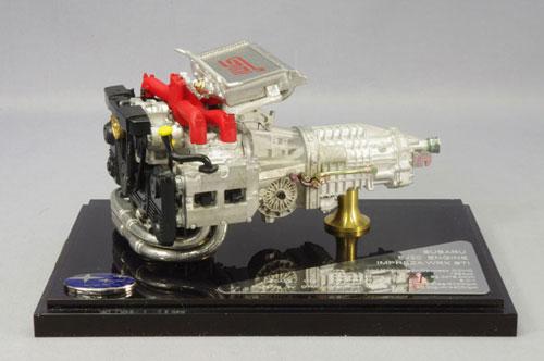 ミニカー・バイク、車のおもちゃ大集合!DTM 1/12 EJ20 エンジンモデル スバル インプレッサ WRX STI [キッドボックス]