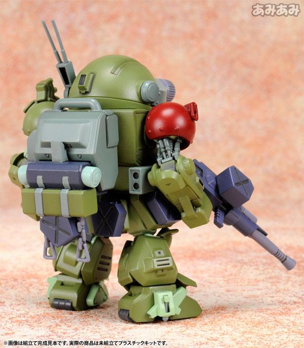 D-スタイル 装甲騎兵ボトムズ スコープドッグ ターボカスタム サンサ戦仕様 キリコ機 プラスチックキット