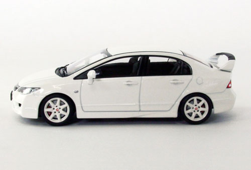 amiami character hobby shop 1 43 honda civic type r fd2 late version grand prix white. Black Bedroom Furniture Sets. Home Design Ideas
