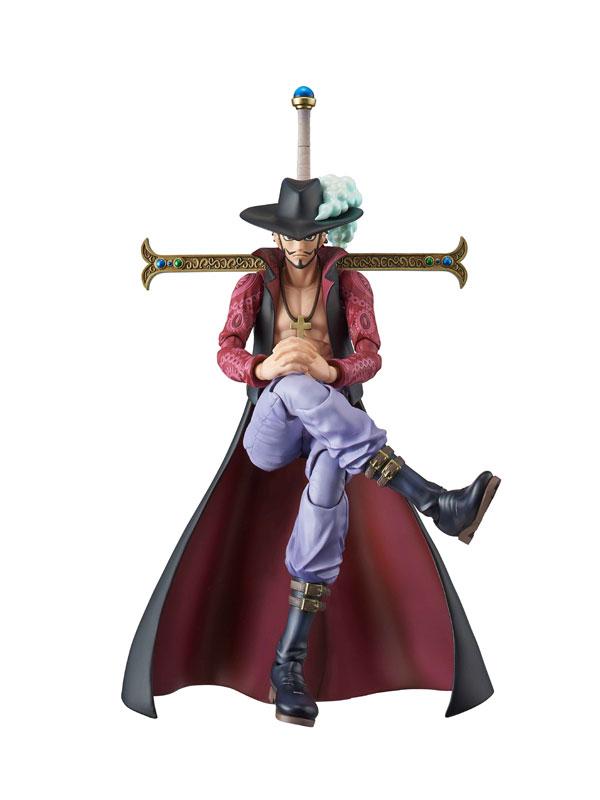 NEW MegaHouse Variable Action Heroes One Piece Dracule Mihawk Figure Japan F//S