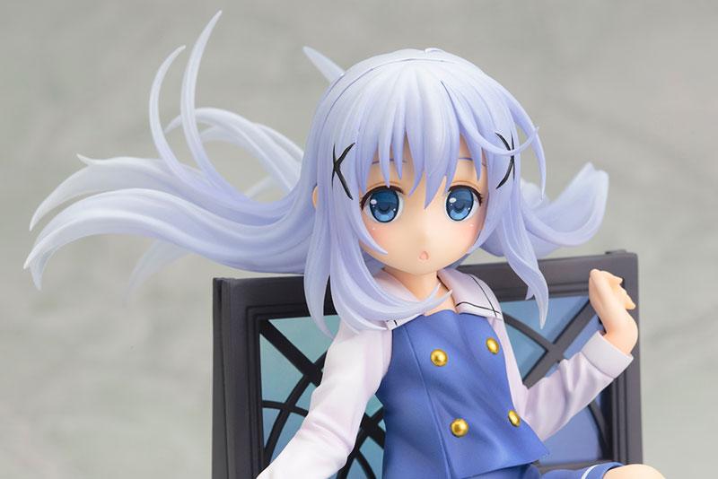 [好評再販]Kotobukiya / 壽屋 / 1/8 / 請問您今天要來點兔子嗎 / 香風智乃 / PVC